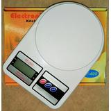 Balanza De Cocina Digital A Pilas De 1g A 10kg Sf400-10k