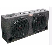 Caja Auto Doble Woofer Tweeter 250 Watts Xxx Auto 10