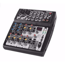Mixer Consola Moon Mc606beta 6 Canales 16 Efectos Digitales