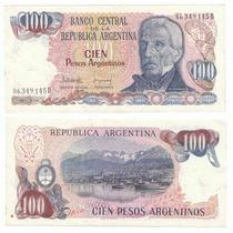 Argentina, Billete De 100 Pesos Argentino, Bottero 2622
