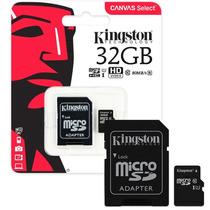 Memoria Micro Sd 32gb Clase 10 Kingston  Full Hd Microcentro