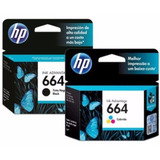 Cartuchos Hp 664 Orig Negro O Color 3635 2135 4535 4675 1115