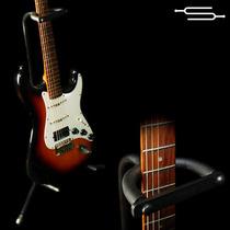 Soporte Pie Para Guitarra Electrica, Acustica, Bajo C/ Traba