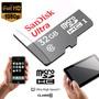 Tarjeta De Memoria Micro Sdhc 32gb Clase 10 Sandisk - Local