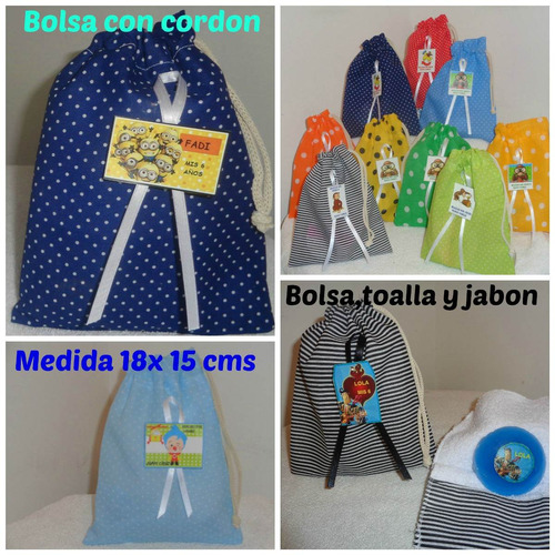 c0509d806 Bolsita De Tela Souvenir Personajes (Bolsitas) a ARS 170 en ...