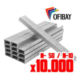 Broches Para Abrochadora N- 10  50 X10.000 Unidades