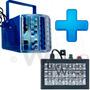 Combo Luces Fiesta, Audiorítmico Flash Rgb 12led Y Miniderby