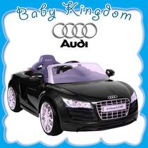 Magnifico Y Potente Auto A Bateria Audi R8 6v Kiddy. Nuevo!