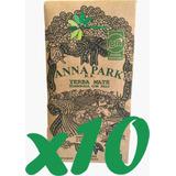 Yerba Mate Orgánica Anna Park 500g Certificada X 10