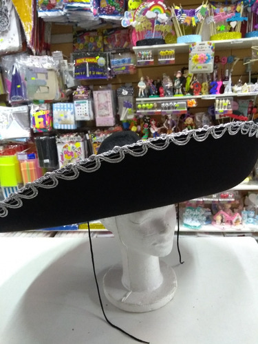 Sombrero Mexicano Mariachi Cotillon Disfraz d122a6a5f9b