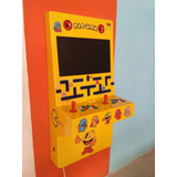 Retro Arcade Recreativo De Pared. Video Juegos Películas 22'