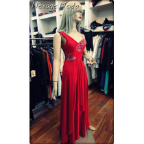 Vestido Largo De Fiesta - Talles ( M - L - Xl)