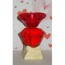 Souvenir Perfume Diamante Piramide Tapa Flor