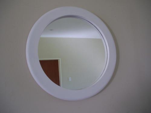 Espejos Redondos Muy Grande Con Marco 90 Cms. - $ 2300 en Melinterest