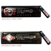 Stereo Bluetooth Control Remoto Desmontable Sd Aux De7008-9