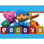 Kit Imprimible Pocoyo Candy Bar Tarjetas Cumpleano Invita #1