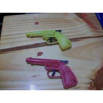 Revolver Plástico Antiguo Funciona Perfecto Precio X 2 Argen