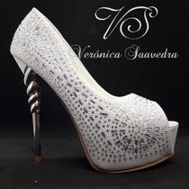 Zapato Mujer Novia Fiesta Egresadas