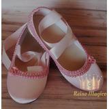 c5ca84f10 Zapatos Con Parlas Para Nena Tipo Bailarina Talle 31