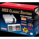 Nintendo Nes Classic Mini Nueva Sellada 30 Juegos Hdmi