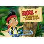 Kit Imprimible Jake Y Los Piratas -personalizá Tu Fiesta