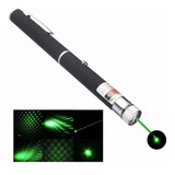 Puntero Laser Verde 16 Km Efecto Luminoso Lluvia Potente Haz