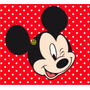 Kit Imprimible Candy Bar Mickey Mouse Rojo Cumpleaños Tarjet