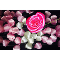 Promo !!!rosas Únicas De Raso La Docena 100 Pesos Oferta