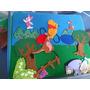 Tablero Fieltro Winnie Pooh C/ Personajes Pa Crear Historias