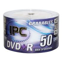 Dvd Virgen Ipc Premium 16x 4,7gb Bulk X 100unid. Oferta!!!