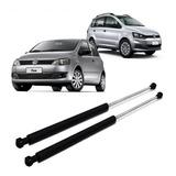 Kit X2 Amortiguador Porton Baul Trasero Volkswagen Fox Suran Todos