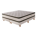 Sommier Cannon Sublime Pillow Top Super King 200x200cm Beige