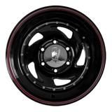 Llantas Direccional Negra Rodado 15x7  Peugeot Pick Up 5x139