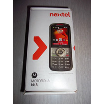 Nextel Motorola ¡418 En Caja (radio Y Telefonia) !impecable!
