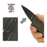 Navaja Plegable Cuchillo Portatil Tarjeta Defensa Personal