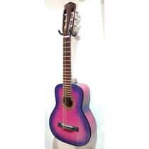 Guitarra Criolla Mini + Funda + Púas De Regalo Garantía