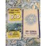 Folletos Originales Turismo Rio Brasil Años 60