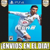 Fifa 19 Ea Sports Fifa 2019 Ps4 Juego Digital 1° 50% Off