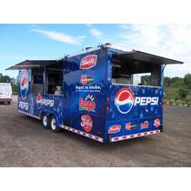 Trailer Americano Ya Patentado Ideal Food Truck - Eventos