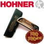 Hohner M25301 Armónica Cromática Chrometta-10 40 Voces