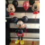 Kit Decoración Con Globos De Mickey Incluye Globo Gigante
