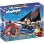 Barco Pirata Playmobil 5238 Grande A Radio Control Original