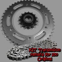 Kit Transmision Yamaha Ybr 250 Original C/oring En Fas Motos
