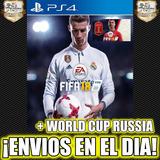 Fifa 18 Ea Sports Fifa + Mundial Rusia 2018 Ps4 Digital 2°