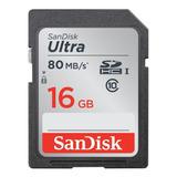 Tarjeta De Memoria Sandisk Sdsdunc-016g-gn6in Ultra 16gb