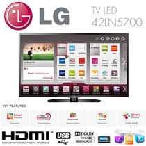 Tv Slim Led Lg 42ln5700 Full Hd 1080p Smart Wifi Hdmi