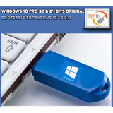 Windows 10 Pro Original Para 1 Pc En Usb De 8gb