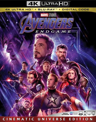 4k Ultra Hd + Blu-ray Avengers Endgame