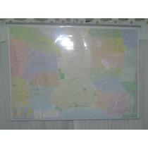 Mapa Mural De Caba Y Alrededores( Gran Buenos Aires)