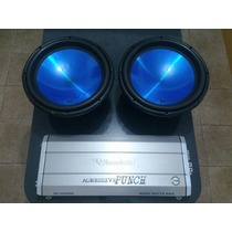 Subwoofer Audiopipe Audio Pipe+agressive Roadstar Potencia